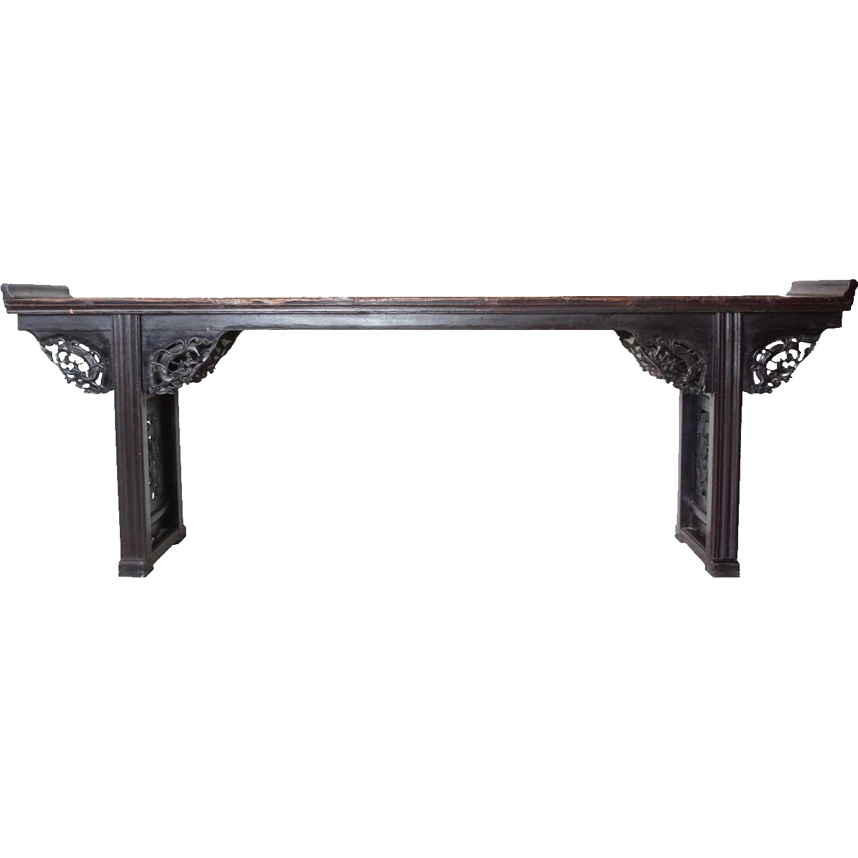 Chinese Lacquered Elm Altar Table
