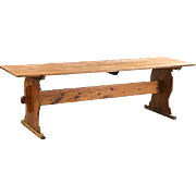 Swedish Pine Trestle Farm Table