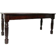Anglo Indian Rosewood Rectangular Dining Table