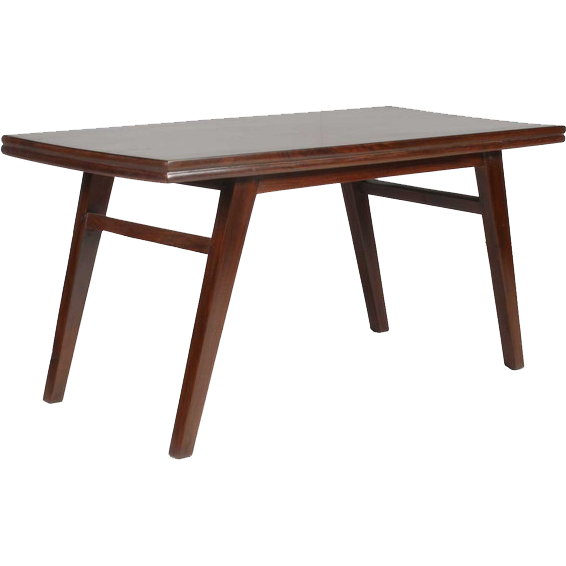 PIERRE JEANNERET Teak Coffee/Cocktail Table from Chandigarh, India
