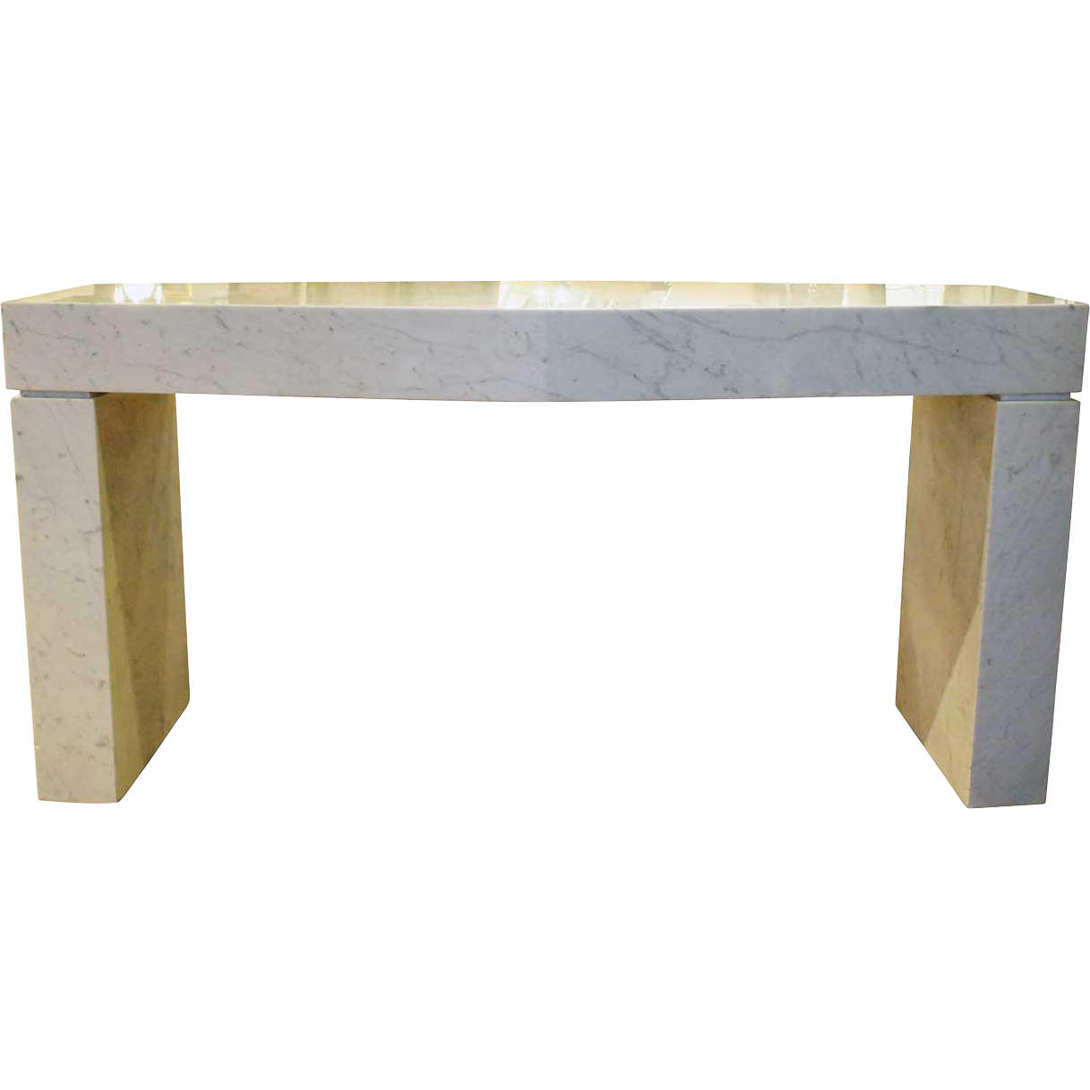 American EDGAR BRITTON Mid Century Modern Marble Altar Table
