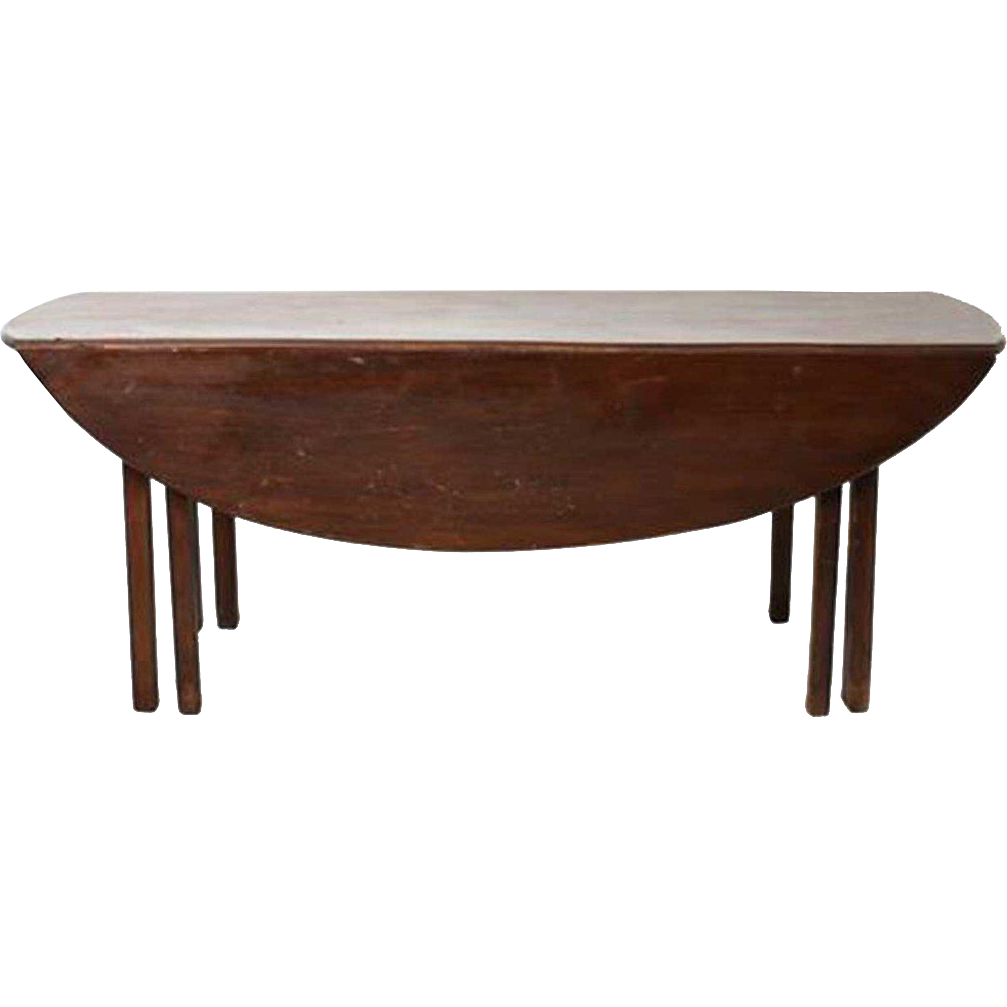 English George III Mahogany Hunt Table
