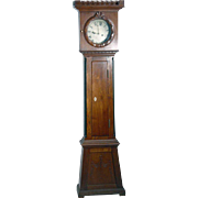 Danish Empire Bornholm Oak Grandfather Clock