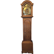 English Jo Harrison Oak Grandfather Clock
