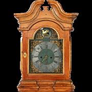 Danish Niels Fischer Baroque Pine Longcase Clock