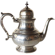 American Wallace Sterling Silver Coffee Pot