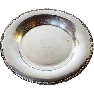American Towle Sterling Silver Round Plate / Low Bowl