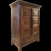 French Louis XIII Oak Armoire