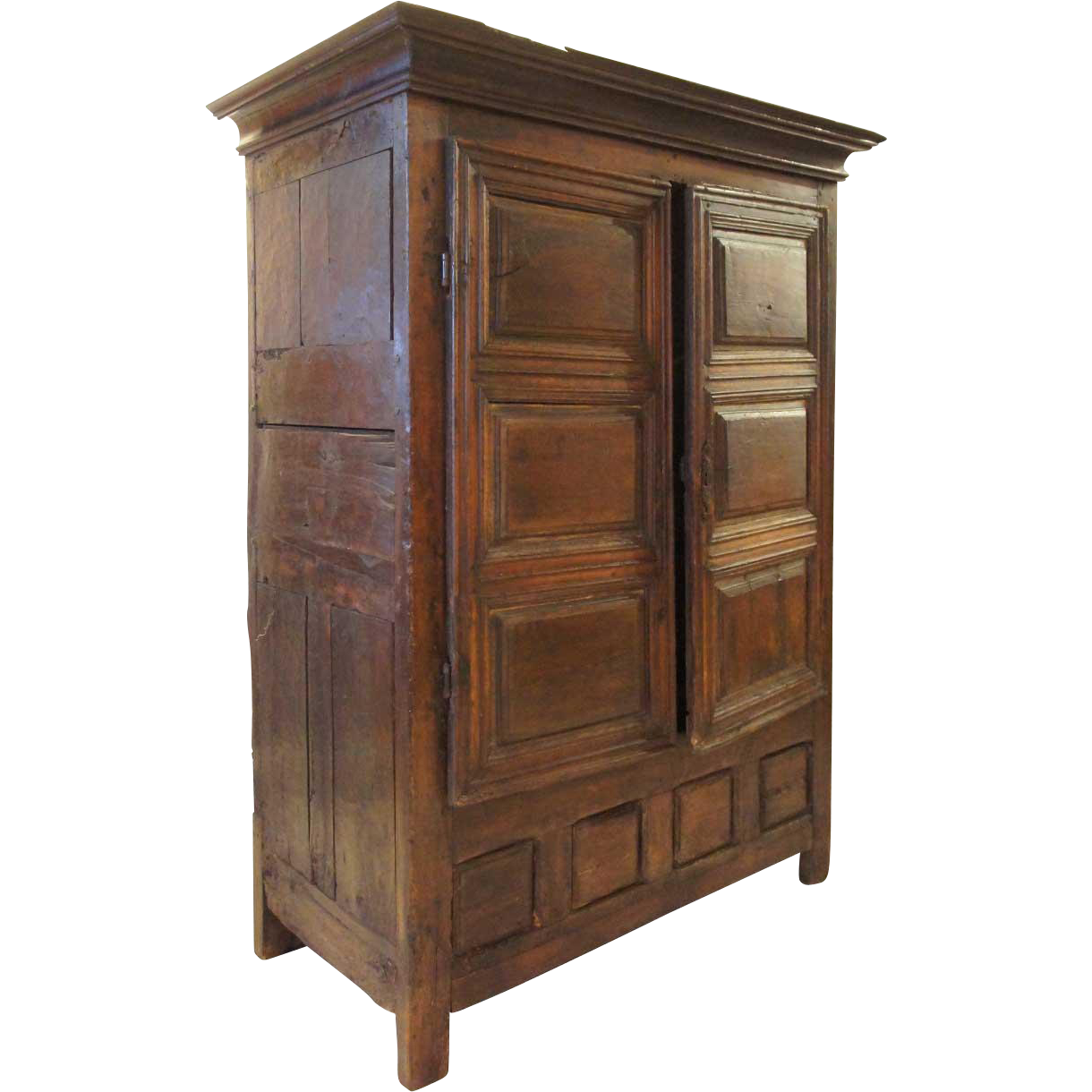 French Louis XIII Oak Armoire