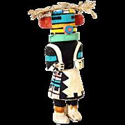Native American Hopi Pueblo Painted Cottonwood Katsina Doll