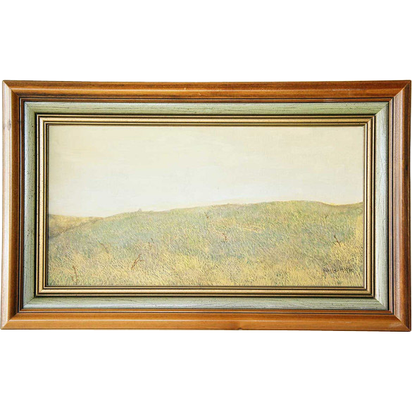 WALTER HATKE Egg Tempera Painting, A Meadow