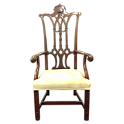 Centennial Mahogany Chippendale Chair after the President's Chair