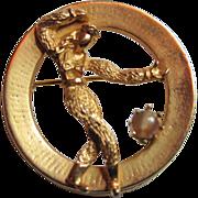 Kramer - Vintage Figural Pin Brooch
