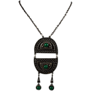 Coro Egyptian Revival Necklace