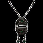 Coro Egyptian Revival Necklace