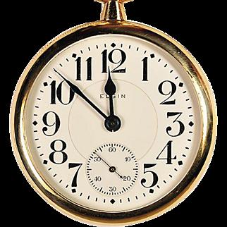 23 Jewel Elgin Veritas Pocket Watch