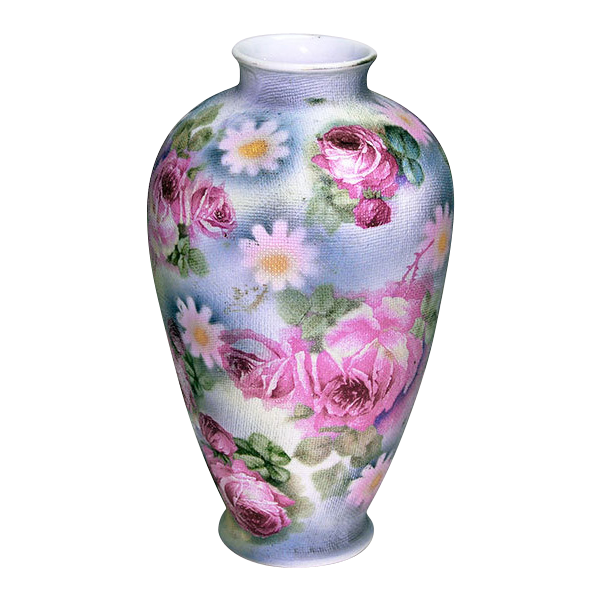 Royal Bayreuth Rose Tapestry Pattern Vase