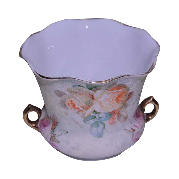 Royal Bayreuth Rose Tapestry Pattern Sugar Bowl