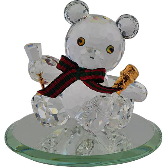 Swarovski Crystal Bear