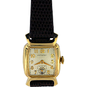 "Hamilton 17 Jewel, Gold Filled Wristwatch in ""Cyril"" Model"