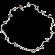 Anklet Bracelet .. Articulated Motif