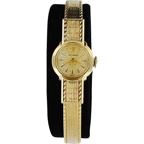 Lady's Vintage 10K Gold Filled Wittnauer Wristwatch