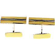 Danish Silver Cuff Links 830S