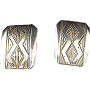 Danish Silver Cuff Links ... 835