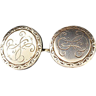 Pair of Swedish .830 Cuff Links