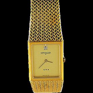 Wittnauer QWR Quartz Wristwatch