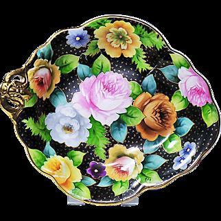 Noritake Morimura Hand Painted Single Handled Dish