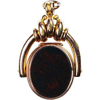 Gold Filled English Watch Fob