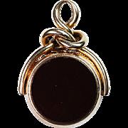 9ct Gold English Gemstone Watch Fob
