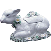 Italian Ceramic Soup or Sauce Tureen, Easter Lamb