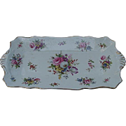 Hammersley Fine Bone China Tray, Howard's Spray Pattern, Florals