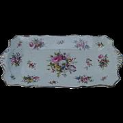 Hammersley Fine Bone China Tray, Howard's Spray Pattern, Florals