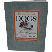 Diana Thorne Album of Dog Drawings 1944