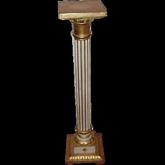 Classic Florentine Pedestal, Column-Shape, Italy