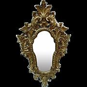 Ornate Vintage Florentine Mirror, Italy