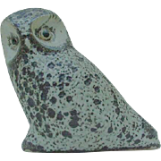 Pigeon Forge Pottery Owl