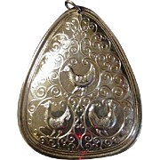 Towle 12 Days of Christmas Ornament, Three French Hens, Sterling