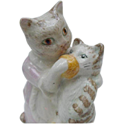 Beswick Vintage Figurine, Beatrix Potter Tabitha Twitchit and Miss Moppet