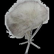 Vintage Silver Fox Hat