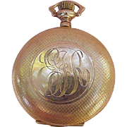 Elgin's Women's Pocket Watch, Keystone Case, 7 Jewel