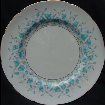 Coalport Bone China Harebell Dinner Plate, England