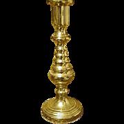 Baldwin Miniature Beehive Brass Candlestick