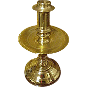 Miniature Virginia Metalcrafters Brass Candlestick