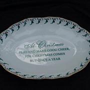 Mottahedeh  Historic Williamsburg Porcelain Trinket or Soap Dish