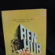 "Movie Program, ""The Story of the Making of Ben Hur"" from Metro-Goldwyn-Mayer"