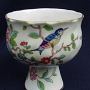 Aynsley, England, Pedestal Vase in Pembroke Pattern, Bone China